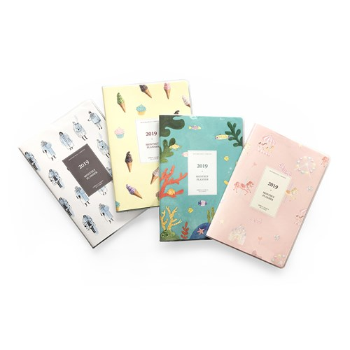 2019 MONTHLY PLANNER