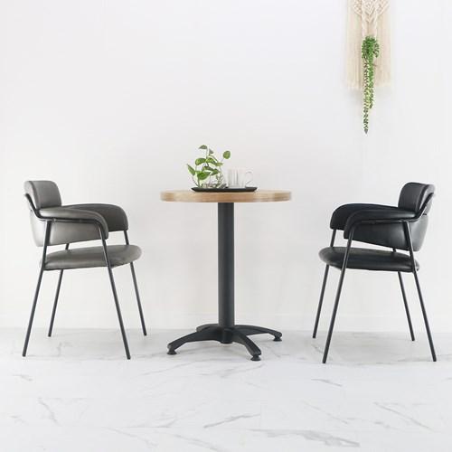 투블럭 카페체어 인테리어 디자인의자