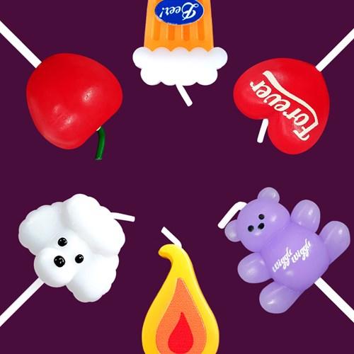 [위글위글]Happy Candles 파티초