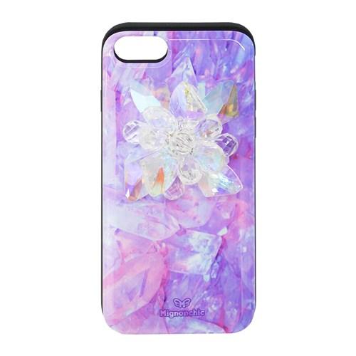 WHITE JEWELRY FLOWER 아이폰 카드수납케이스