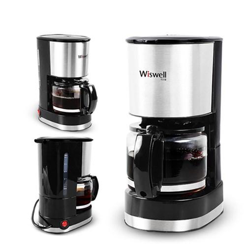 [리퍼] 위즈웰 커피메이커 미니 WSC-6669 /커피머신/원두커피머신