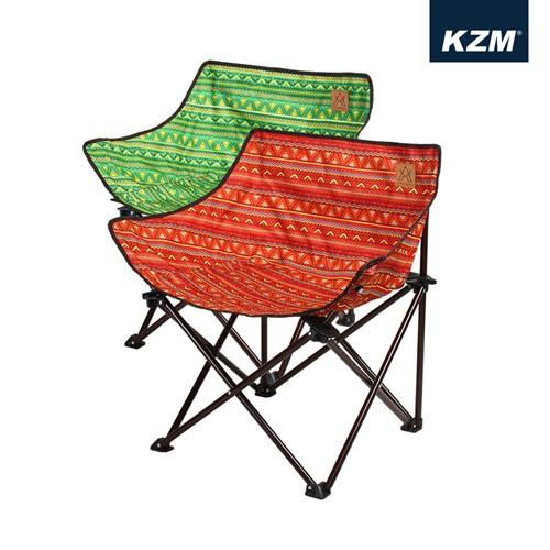 카즈미 390체어 1+1 / 감성 캠핑의자 낚시의자 로우체어