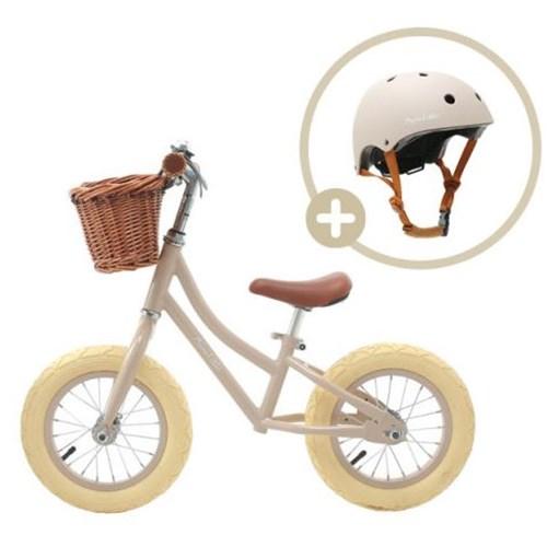 맘앤리틀 밸런스바이크 페달없는 유아 자전거 헬멧 세트