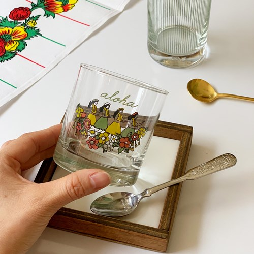 커먼키친 Retro Aloha petit glass with Kangyang