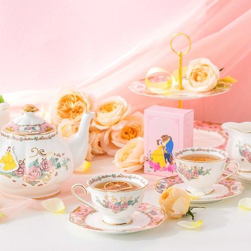 [디즈니] 미녀와야수_Tea Pot set (티팟+찻잔2인조)