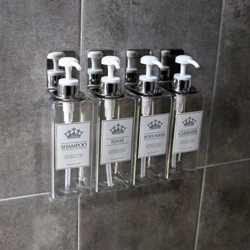 [아토소] 호텔감성 샴푸통 욕실디스펜서(디스펜서홀더)