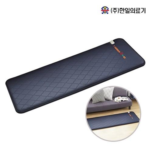 한일의료기 간이침대형 매트 스판덱스 네이비 65x180cm