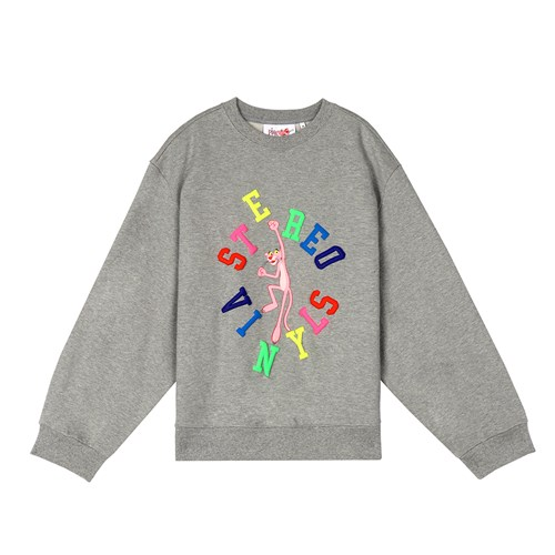 [FW19 Pink Panther] Jumping PP Sweatshirts(Melange G_(703978)