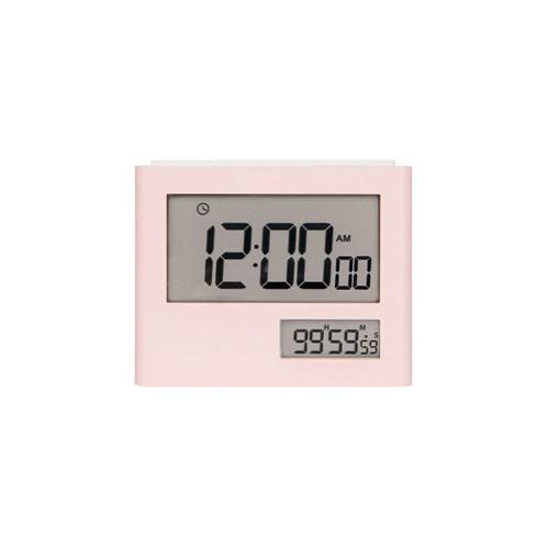라이프썸 듀얼 디지털 스톱워치 (LFS-HA28) 베이비핑크