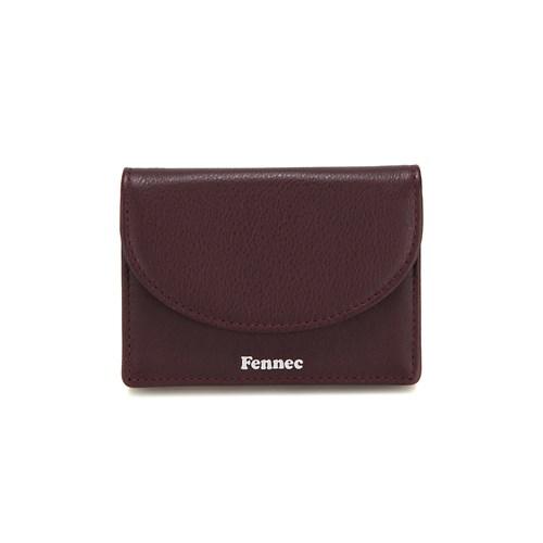 [11/28예약배송]FENNEC HALFMOON ACCORDION POCKET - WINE