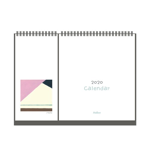 2020 2way clanedar - 집, 바라보다 (탁상용 캘린더)