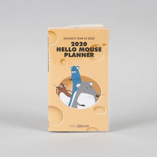 (2020 날짜형) 2020 Hello Mouse Planner