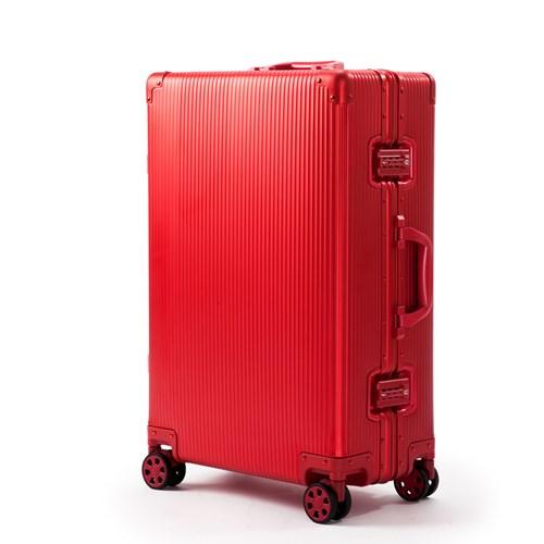 코코캅 델라 20인치 기내용 레드 알루미늄 100% 여행용 캐리어