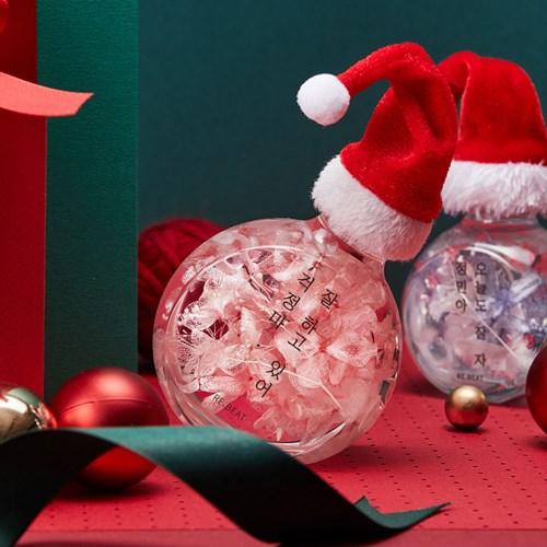 [크리스마스 선물] 꽃을 든 산타 무드등