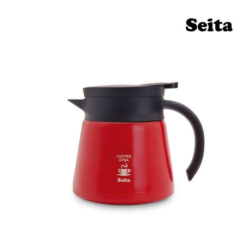 세이타 커피 드립서버포트 600ml 보온주전자