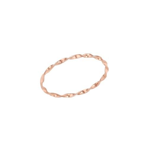 [꽃반지증정] 로이드 슬림 웨이브 레이어드 14K Gold 반지 LRS20C05G