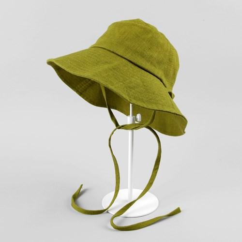 [베네]린넨 슬라브 벙거지 모자