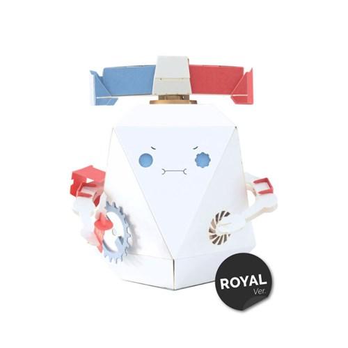 [로보트리] 움직이는 종이로봇 로빗 경찰포리 (로얄버전)