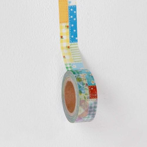 Patchwork Masking Tape [Vivid Patchwork]