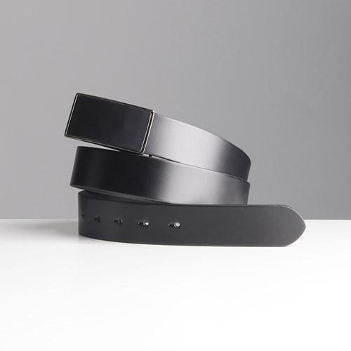belt 004 스퀘어 매트 버클 벨트 가죽 심플 33mm 정장벨트 3 color