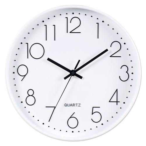 아날로그 인테리어 무소음 벽걸이 시계 GW002-WH