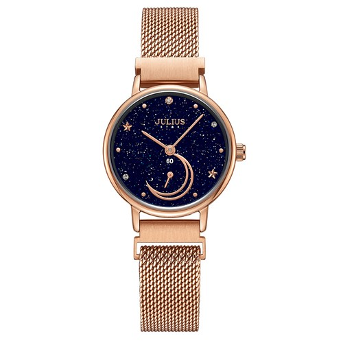 [쥴리어스스타 본사정품] JS-038 여성시계/손목시계/메쉬밴드