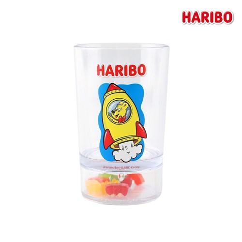 하리보 골드베어 투명컵