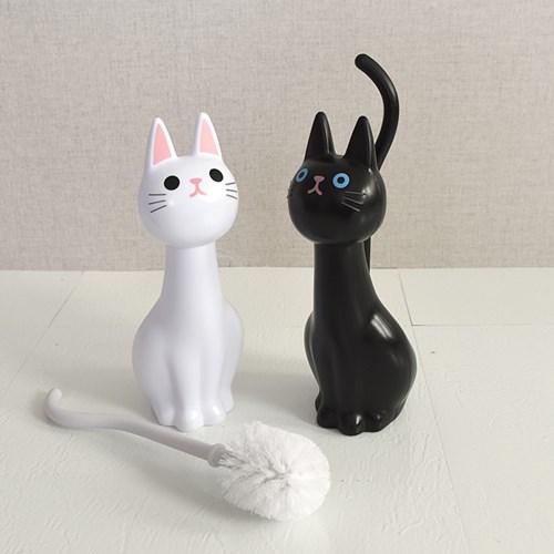 고양이 변기솔