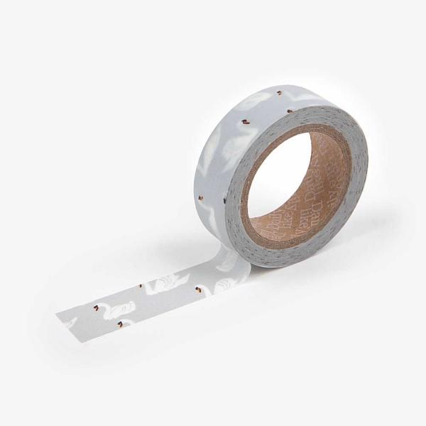 Dailylike Masking Tape Single 22 Swan
